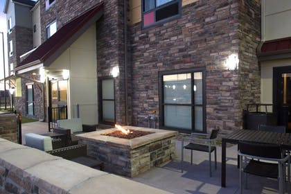 Terrace/Patio | TownePlace Suites by Marriott Lincoln North
