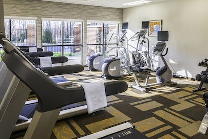 Fitness Facility | Courtyard by Marriott Largo Capital Beltway