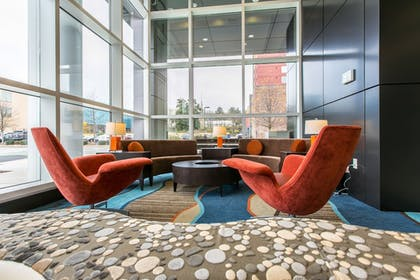 Lobby | Holiday Inn Hotel & Suites Chattanooga Downtown
