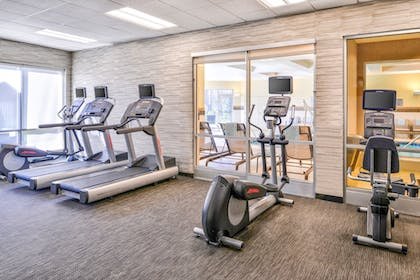 Fitness Facility | Courtyard by Marriott Columbus Grove City