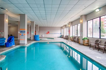 Indoor Pool | Park Tower Inn