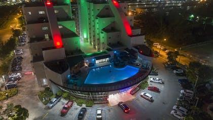 Aerial View | Nuvo Suites Hotel