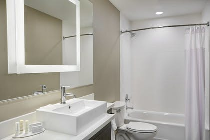 Bathroom | SpringHill Suites by Marriott Milwaukee Downtown