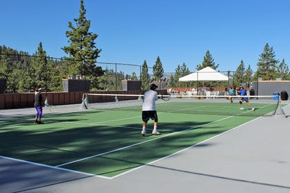 Tennis Court | Tahoe Seasons Resort by Diamond Resorts