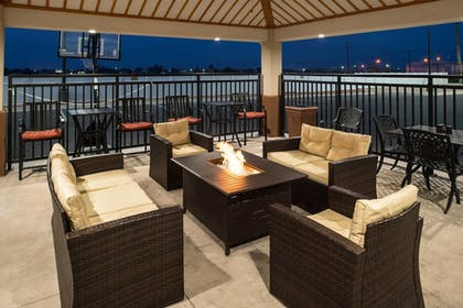 Terrace/Patio | Candlewood Suites Carlsbad South