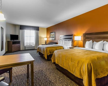 Guestroom | MainStay Suites Event Center