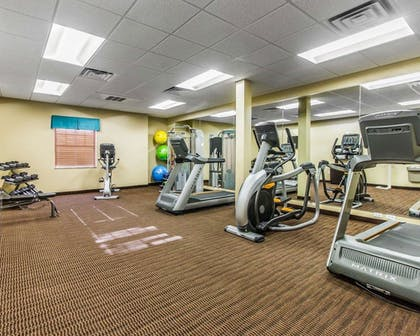 Fitness Facility | MainStay Suites Event Center