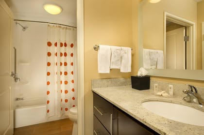 Bathroom | TownePlace Suites Orlando at FLAMINGO CROSSINGS® Town Center/Western E
