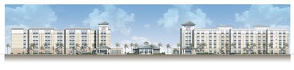 Hotel Front   TownePlace Suites Orlando at FLAMINGO CROSSINGS® Town Center/Western E