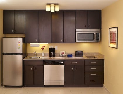 In-Room Kitchen | TownePlace Suites Orlando at FLAMINGO CROSSINGS® Town Center/Western E