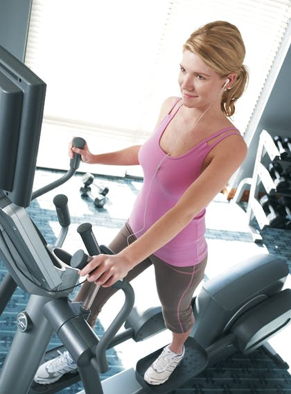 Gym | TownePlace Suites Orlando at FLAMINGO CROSSINGS® Town Center/Western E