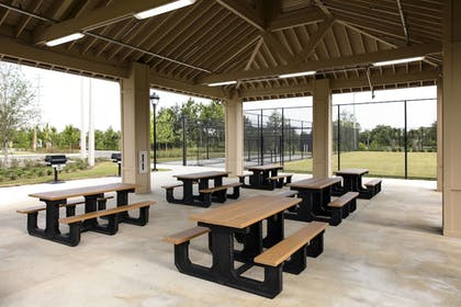 BBQ/Picnic Area | TownePlace Suites Orlando at FLAMINGO CROSSINGS® Town Center/Western E