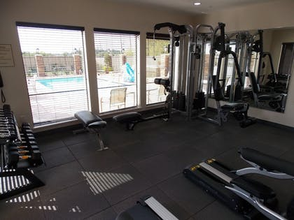 Fitness Facility | Best Western Plus Spring Inn & Suites