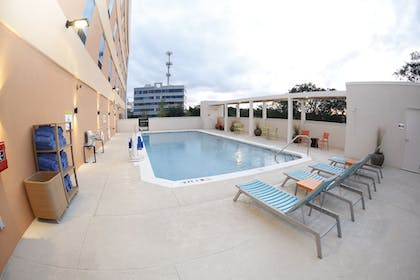 Pool Waterfall | Home2 Suites by Hilton Tallahassee State Capitol