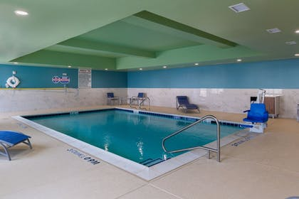 Indoor Pool | Holiday Inn Express & Suites Fort Worth West