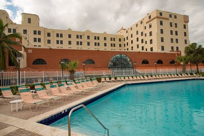 Outdoor Pool | Design Suites Hollywood Beach Resort