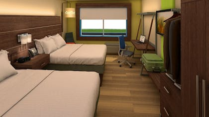 Guestroom | Holiday Inn Express & Suites Des Moines Downtown