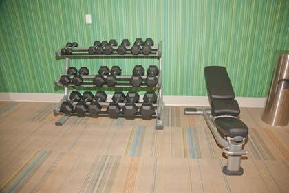 Fitness Facility | Holiday Inn Express & Suites Decatur