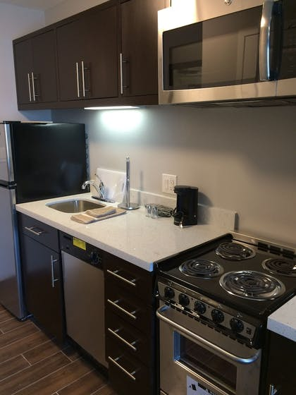In-Room Kitchen | TownePlace Suites by Marriott Waco South