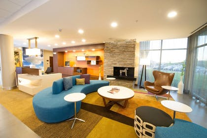 Lobby | Fairfield Inn & Suites Dallas Plano North