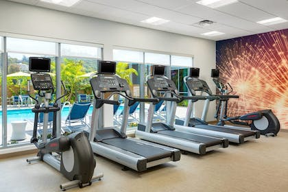 Gym | Springhill Suites San Diego Mission Valley