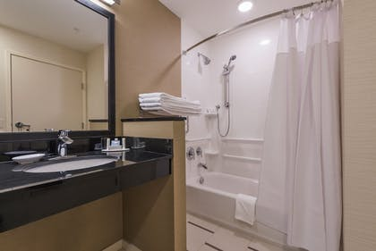 Bathroom | Fairfield Inn & Suites Afton Star Valley