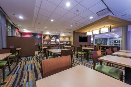 Breakfast Area | Fairfield Inn & Suites Afton Star Valley