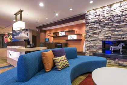 Lobby Sitting Area | Fairfield Inn & Suites Afton Star Valley