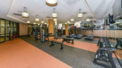 Fitness Facility | 1919 Clarendon by Executive Apartments