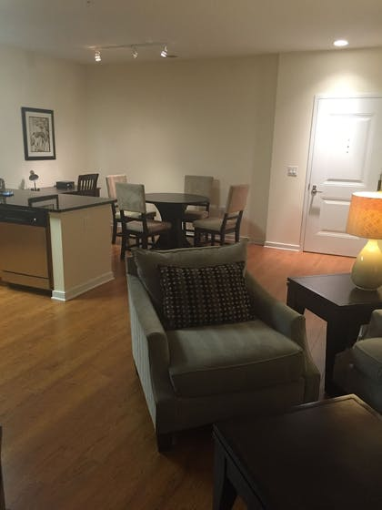 Living Area | Madison at Ballston by Exec Apartments
