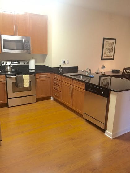 In-Room Kitchen | Madison at Ballston by Exec Apartments