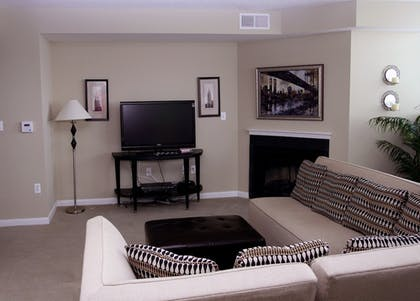 Living Room | Concord by Executive Apartments