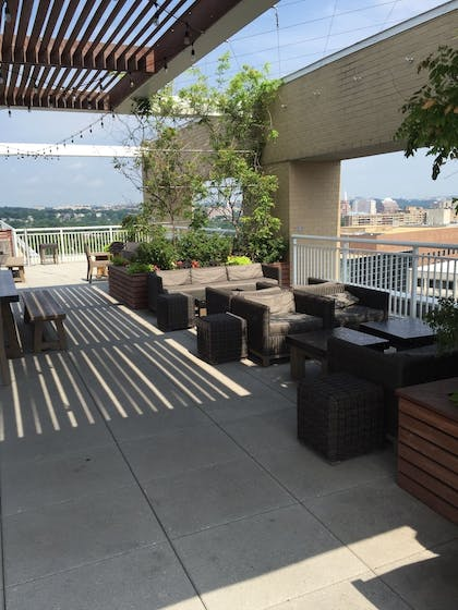 Terrace/Patio | Concord by Executive Apartments