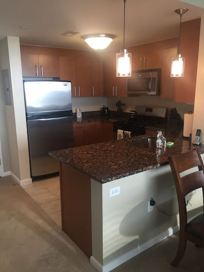 In-Room Kitchen | Concord by Executive Apartments