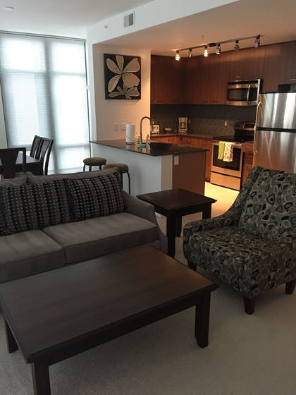 Living Room | Tellus by Executive Apartments