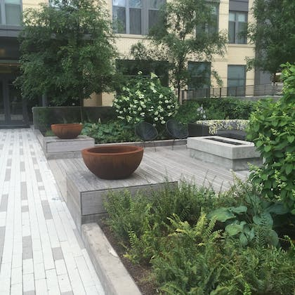Courtyard | Tellus by Executive Apartments