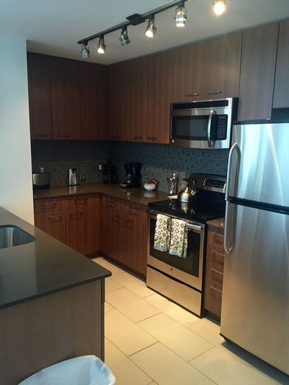In-Room Kitchen | Tellus by Executive Apartments