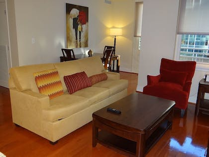 Living Area | The Avenue by Executive Apartments