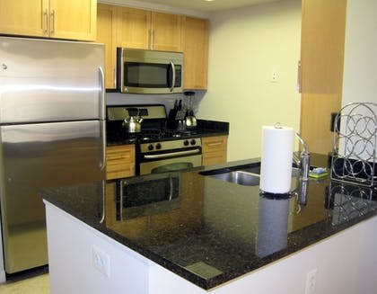 In-Room Kitchen | Gramercy by Executive Apartments