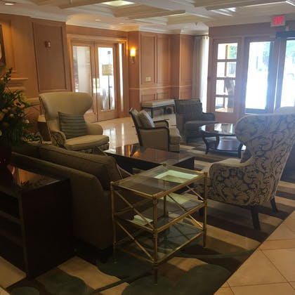 Lobby Sitting Area | Instrata by Executive Apartments