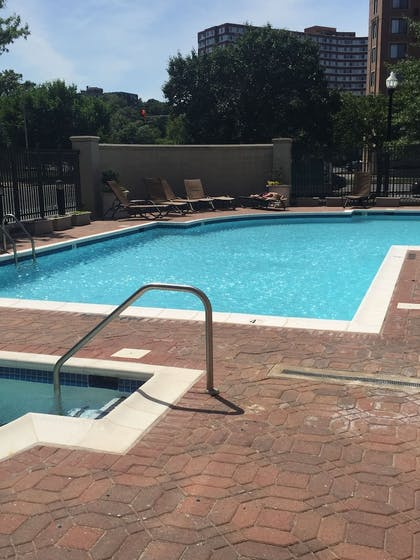 Outdoor Pool   Instrata by Executive Apartments