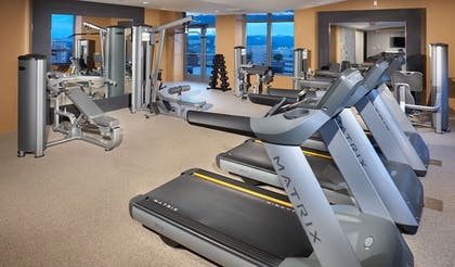Fitness Facility | Millennium by Executive Apartments
