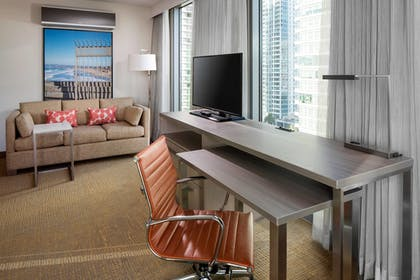 Living Room | Residence Inn by Marriott San Diego Downtown/Bayfront