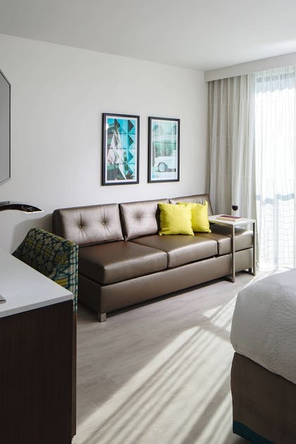 | Studio, 1 King Bed with Sofa bed | Residence Inn by Marriott Miami Beach South Beach