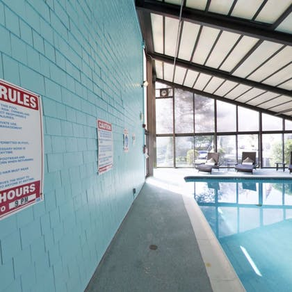 Indoor Pool | Aqua Blue Hotel & Conference Center