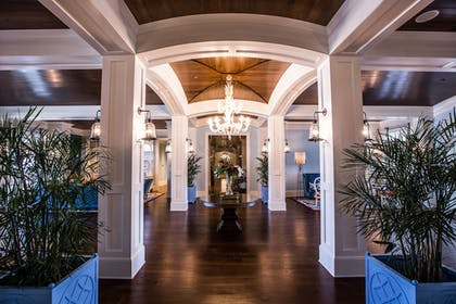 Interior Entrance | The Beach Club at Charleston Harbor Resort and Marina