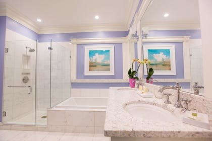 Bathroom | The Beach Club at Charleston Harbor Resort and Marina