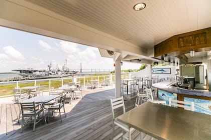 Hotel Bar | The Beach Club at Charleston Harbor Resort and Marina