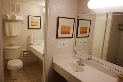 Bathroom Amenities | At Home Inn & Suites