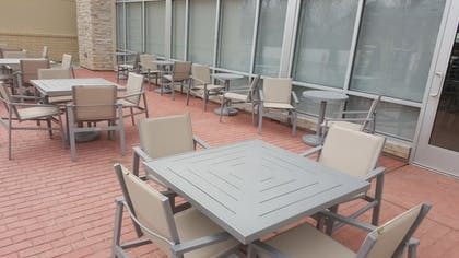 Terrace/Patio | Holiday Inn Express & Suites Toledo West